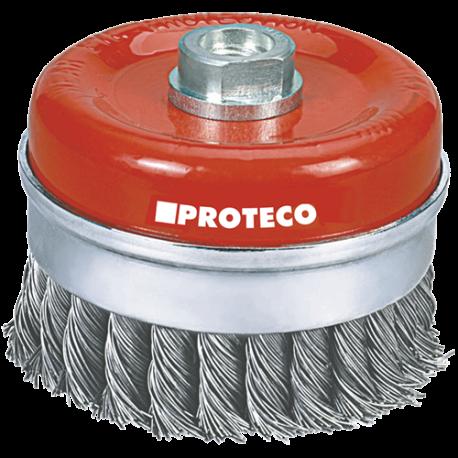 Proteco Topfbürste 100xM14 gezopft